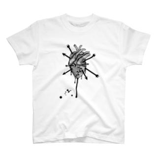ハートブレーク T-shirts