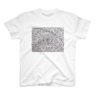 Gatto69Rosso  混沌 T-shirts
