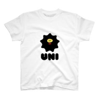 シンプルなウニ T-shirts