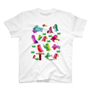インコのカットクラブ T-shirts
