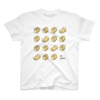 キャットローブズ T-shirts