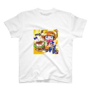もぐもぐガール T-shirts
