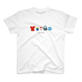 どんどんキッズ*デザインroomの忘れ物ない?*Boy T-Shirt