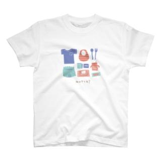 忘れ物ない? Girl T-shirts