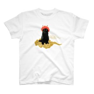 【A】赤鬼さんと金雲 T-shirts