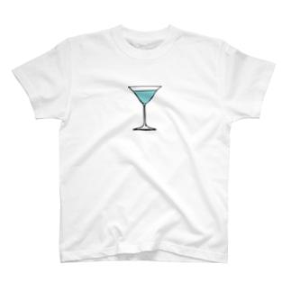 ブルーラグーン・カクテル T-shirts