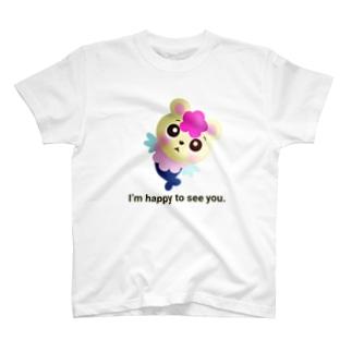 くまぎょランド公式グッズ(仮) T-shirts