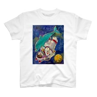 きみと宇宙浮遊 T-shirts