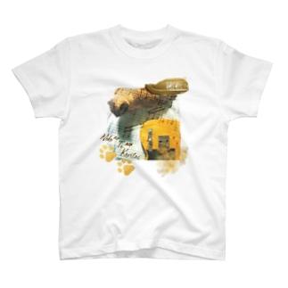 【妄想ツアーT】YOLOS ネコノテモカリタイツアー(ギターver.) T-shirts
