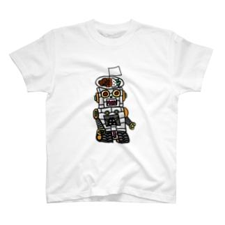 かつめジンガーα T-shirts