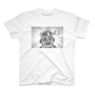 かつめディアショップのかつめジンガーの最後 T-shirts