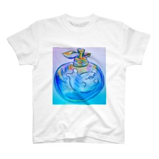 エモいアザラシ屋さんのざらしの瓶詰め T-shirts