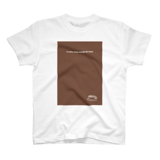 monochromeH2のA coffee shop outside the town 2020 T-shirts