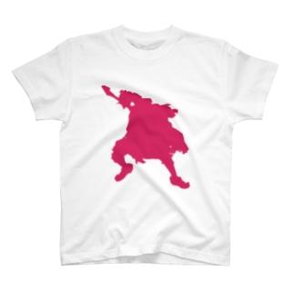 ジャンピングG T-shirts