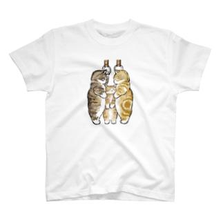もふもふ満員電車 T-shirts