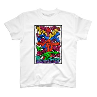 PassingTree Color Noise T-shirts