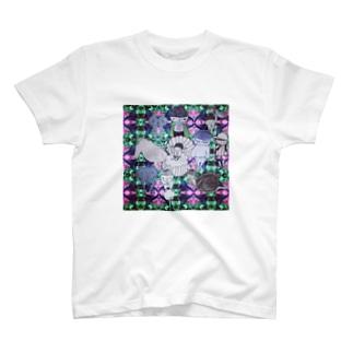 誕生もしくは涅槃図 T-shirts