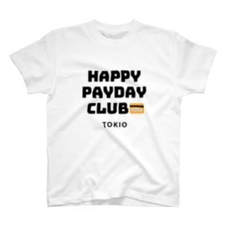 HAPPY PAYDAY CLUB T-shirts