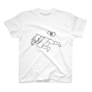 カエルひるね T-shirts