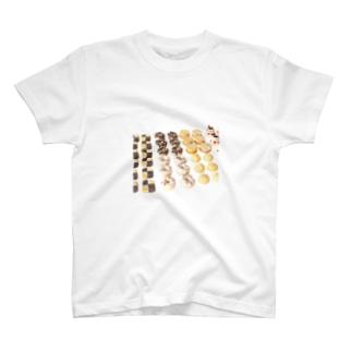 スイーツ×スイーツ T-shirts