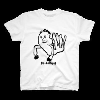 Do-lollipopのびよびよのエビフライ T-shirts