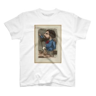 「Gustave Courbet」 Inconnu/Paris Musées T-shirts