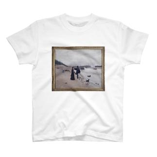 「Les berges de la Seine」 Béraud, Jean/Paris Musées T-shirts