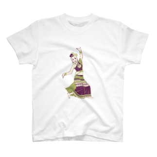 【タイの人々】伝統舞踊のダンサー T-shirts