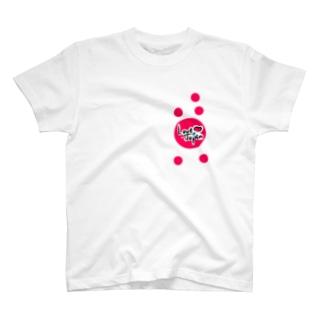 Love Japan水玉バージョン T-shirts