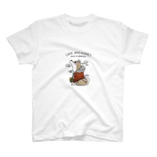 おつかいSHIBA フルカラー T-shirts