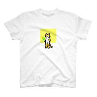 ちゃしろねこ T-shirts