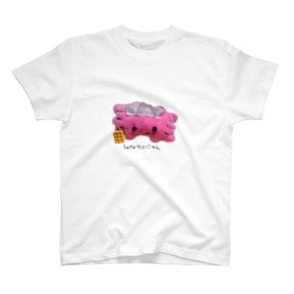 Smileカニにゃん(ぬいぐるみvar) T-shirts