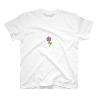はぎはらしゅんくんフラワー T-shirts