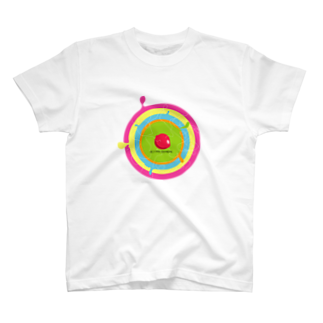 キャラファク・世界一売れていないざつゆるキャラデザイナーの細胞ってホンマはカラフルやねんて!!マジ?!(妄想) T-shirts