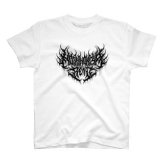 星ノ宮れの ロゴ(黒) T-shirts