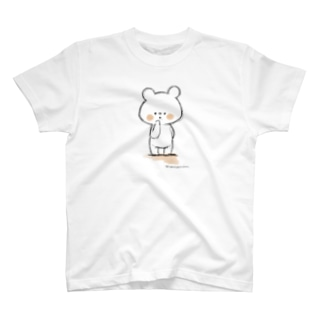 しろくまななみん ラフ画風 T-shirts