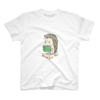本読みハリネズミ T-shirts