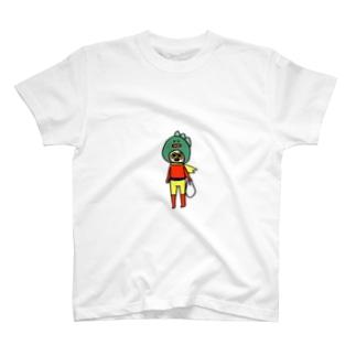 日常ヒーローくん T-shirts