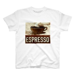 エスプレッソ1 T-shirts