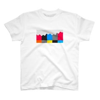 Color Bar Arp T-shirts