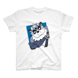 パンダーさん(斜め) T-shirts