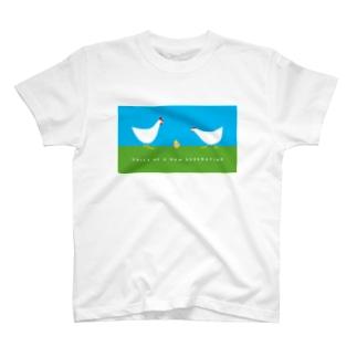 voice of ヒヨコ T-shirts