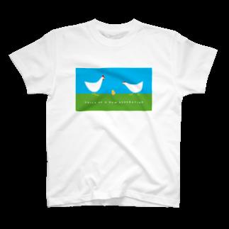 brakuroのvoice of ヒヨコ T-shirts