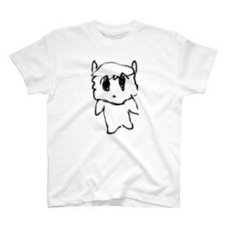 シンプルむりんちゃん T-shirts
