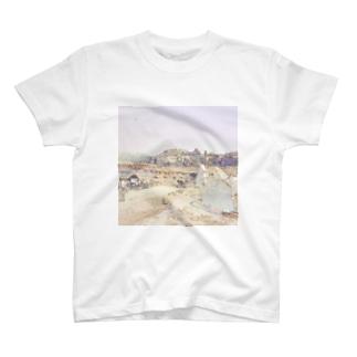 CG絵画:アルテミス神殿址 CG art: The site of the temple of Artemis / Ephesus (Efes/İzmir) T-shirts