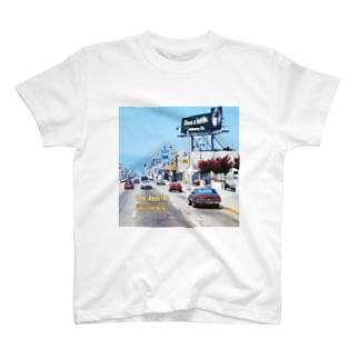 アメリカ:ロサンゼルスの風景写真 U.S.A.: Los Angeles / California T-shirts