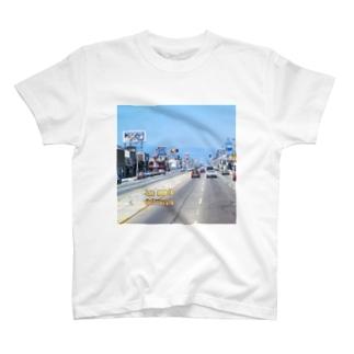 FUCHSGOLDのアメリカ:ロサンゼルスの風景写真 U.S.A.: Los Angels / California T-Shirt