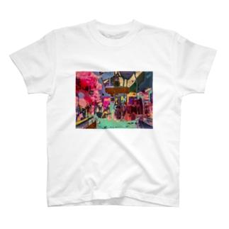 渋谷③ T-shirts