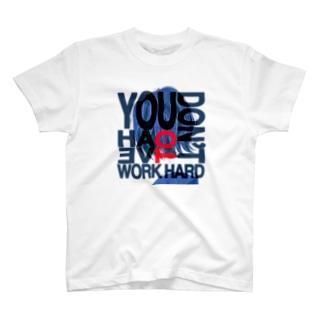 ウルフカットgirl T-shirts