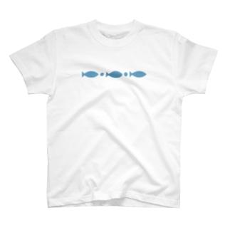 おさかなさんびき T-shirts